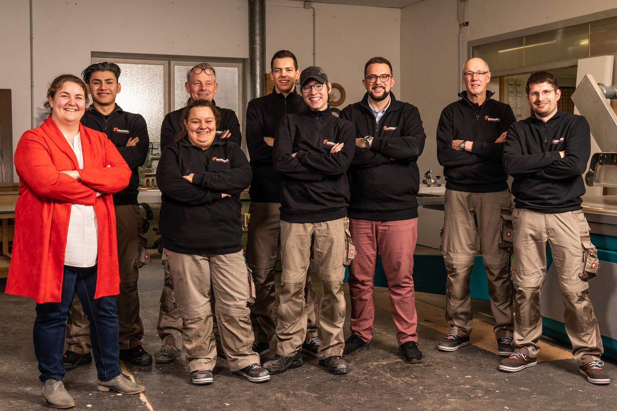 Team Schreinerei Hennemann